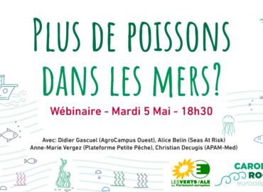 Wébinaire « Plus de Poissons dans les mers » – Mardi 5 mai