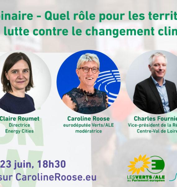 Webinaire: territoires et action climatique