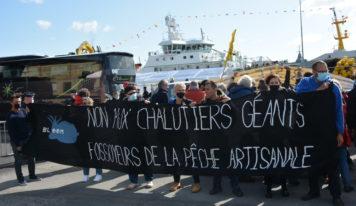 À Concarneau, résistons face à la pêche industrielle