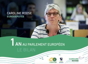 Déjà 1 an au Parlement européen : le bilan !