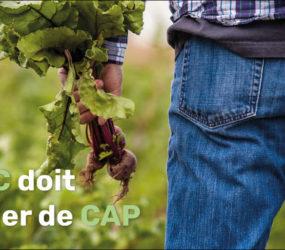Politique agricole commune : une réforme mauvaise pour les paysans, les animaux et l'environnement.