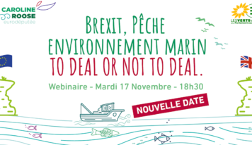 [NOUVELLE DATE webinaire] Brexit, pêche et environnement : to deal or not to deal.