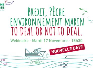 [NOUVELLE DATE webinaire] Brexit, pêche et environnement: to deal or not to deal.