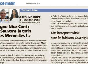 Tribune – Ligne Nice-Coni: «Sauvons le train des merveilles»