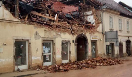 Aide de l'UE suite aux séismes en Croatie: le Parlement européen adopte une résolution d'urgence
