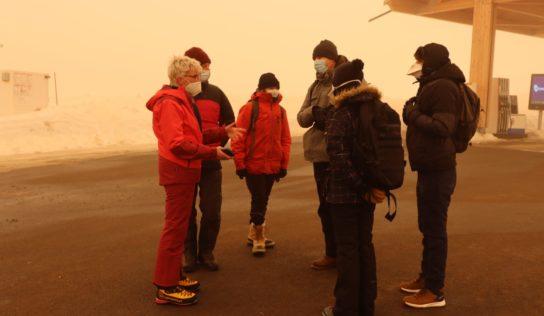 Maraudes Solidaires: un froid glacial accompagné d'un vent cinglant.
