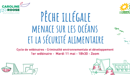 Webinaire – criminalité environnementale et développement: la pêche illégale